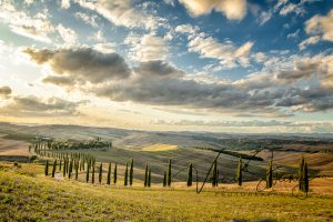 Cloudy in Tuscany