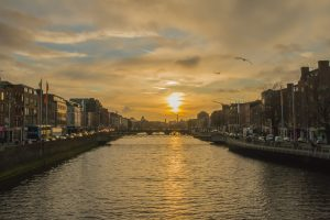 View from the Ha'penny Bridge